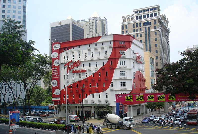 Tune Hotel (formerly known as Grand Centrepoint Hotel Kuala Lumpur)